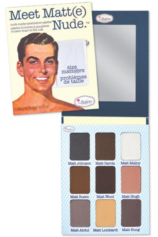 Blissim : theBalm® cosmetics - Palette yeux Meet Matt(e) Nude™ - Palette yeux Meet Matt(e) Nude™