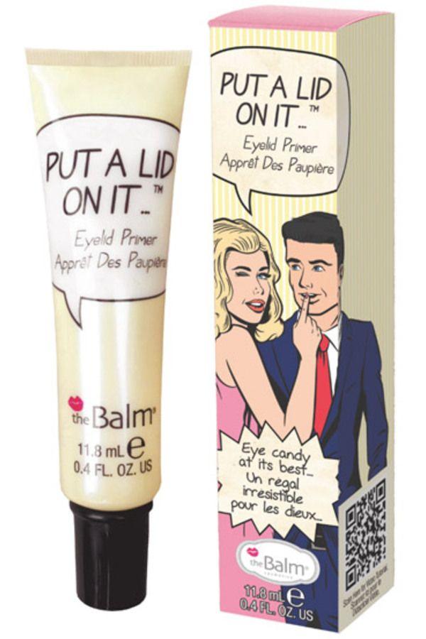 Blissim : theBalm® cosmetics - Base pour fards à paupières Put a Lid On It™ - Base pour fards à paupières Put a Lid On It™