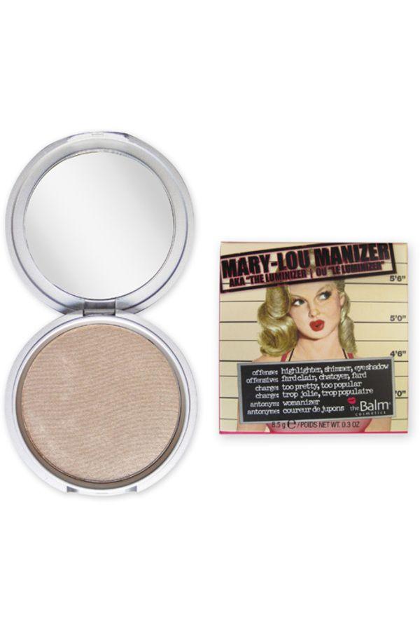 Blissim : theBalm® cosmetics - Poudre 3 en 1 Mary-Lou Manizer - Poudre 3 en 1 Mary-Lou Manizer