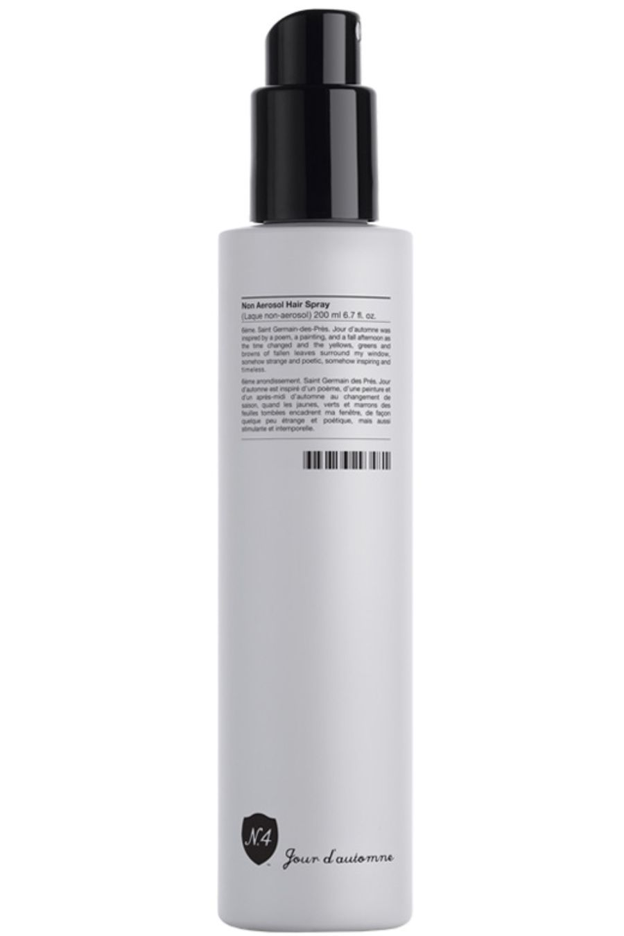 Blissim : Number 4 - Jour d'automne Non Aerosol Hair Spray - Jour d'automne Non Aerosol Hair Spray