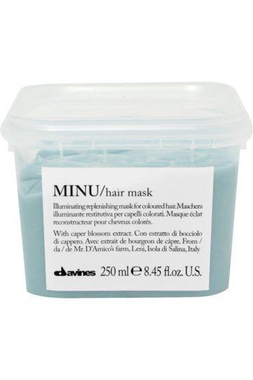 Masque pour cheveux colorés Minu