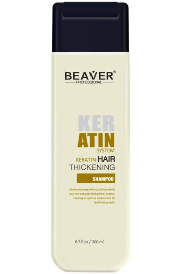 Shampoing Keratin Hair Thickening