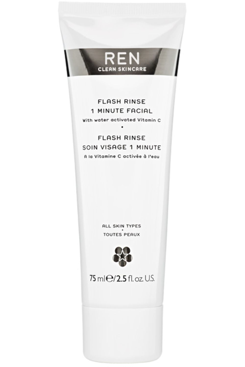 Blissim : REN - Soin visage express 1 minute - Flash Rinse
