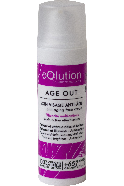 Blissim : Oolution - Soin du visage multi-actions correction anti-âge Age Out - Soin du visage multi-actions correction anti-âge Age Out