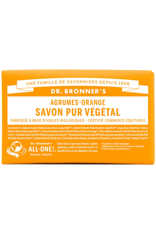 Blissim : Dr Bronner's - Pain de Savon - Citrus Orange