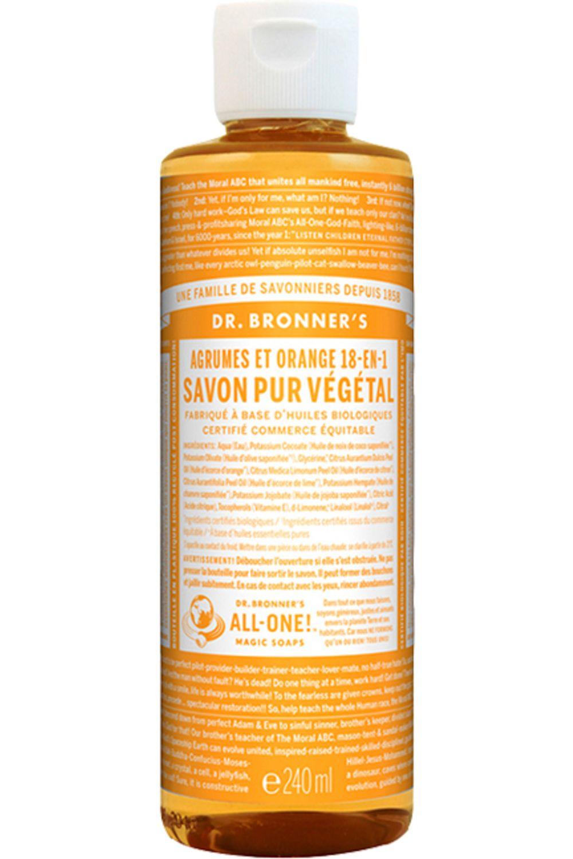 Blissim : Dr Bronner's - Savon Liquide - Savon Liquide Citrus Orange