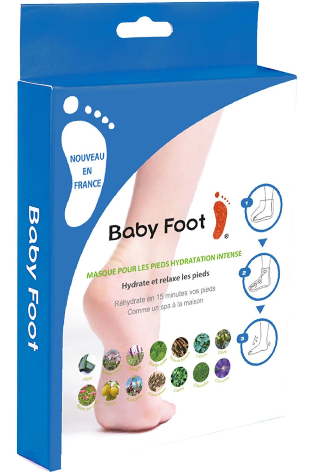 Blissim : Baby Foot - Masque Chaussette Hydratant - Masque Chaussette Hydratant