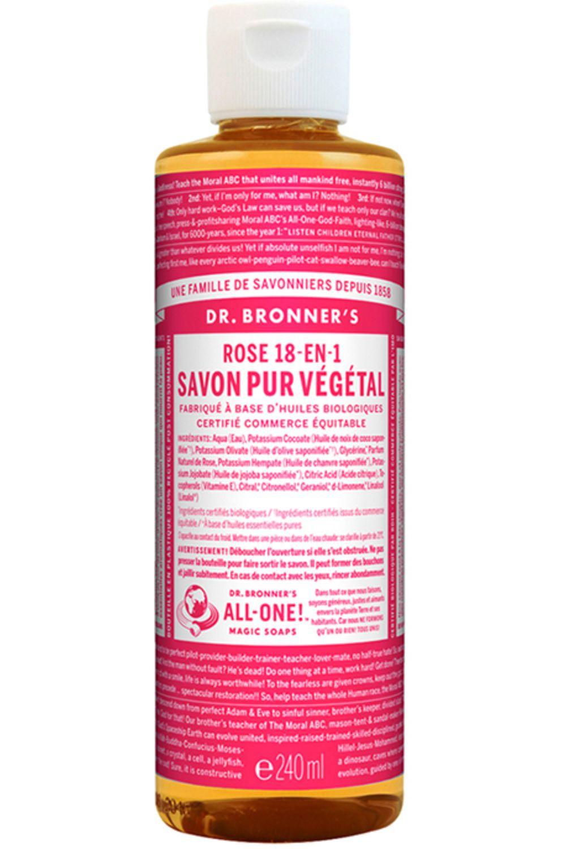 Blissim : Dr Bronner's - Savon Liquide - Savon Liquide Rose
