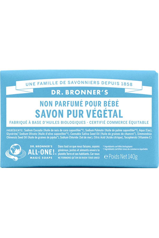 Blissim : Dr Bronner's - Pain de Savon - Non Parfumé pour Bébé