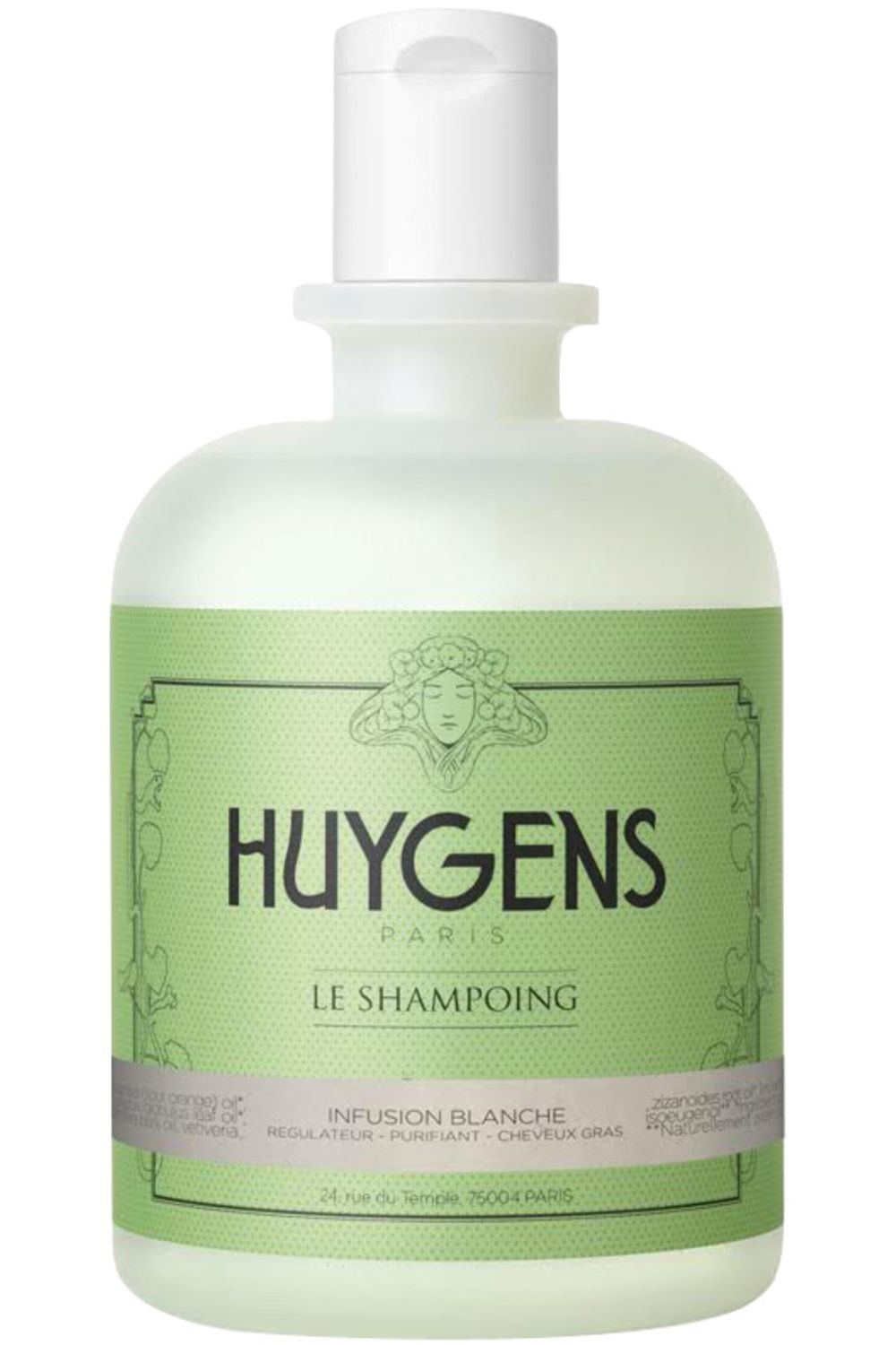 Blissim : Huygens - Shampoing Infusion Blanche Régulateur - Shampoing Infusion Blanche Régulateur