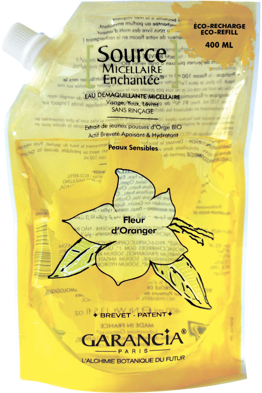 Blissim : Garancia - Eau source micellaire Enchantée® - Recharge Source Micellaire Fleur d'Oranger