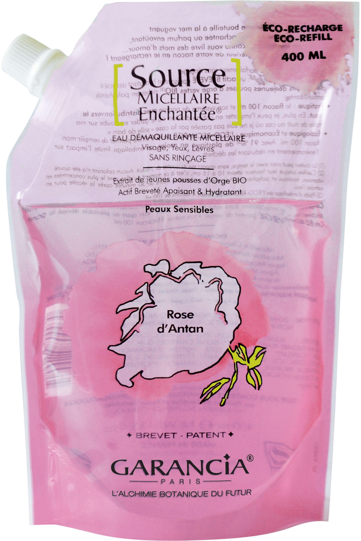 Blissim : Garancia - Eau source micellaire Enchantée® - Recharge Source Micellaire Rose