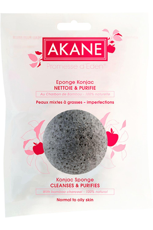 Blissim : Akane - Eponge Konjac - Eponge Konjac Noire
