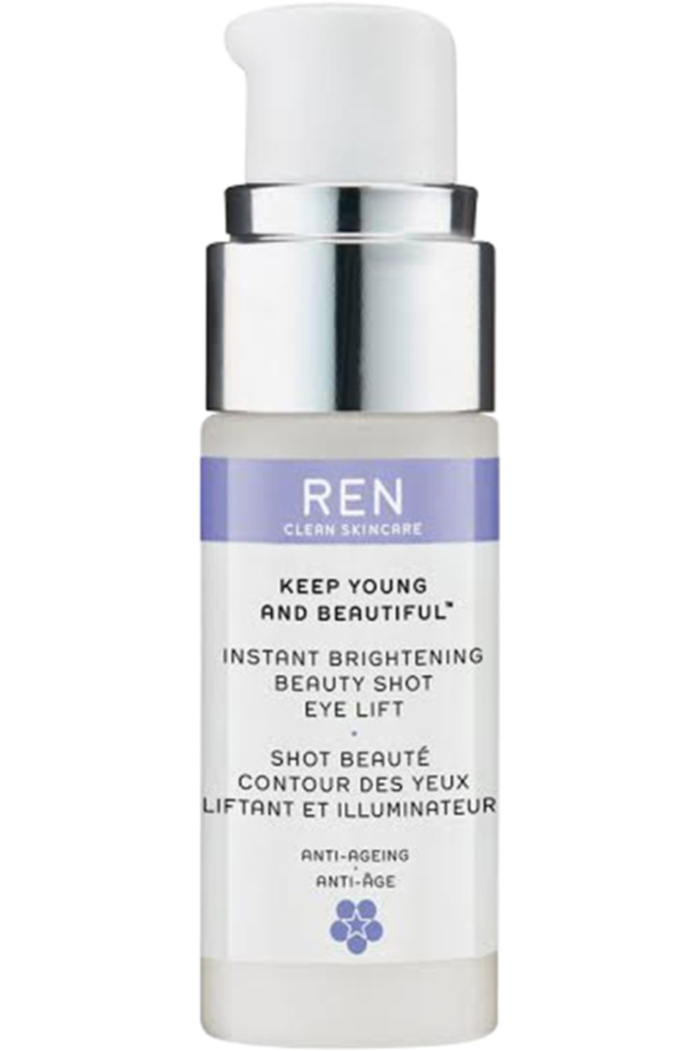 Blissim : REN - Shot beauté contour des yeux liftant et illuminateur Keep Young And Beautiful - Shot beauté contour des yeux liftant et illuminateur Keep Young And Beautiful