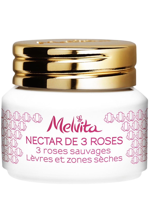 Blissim : Melvita - Baume à lèvres et zones sèches Nectar de 3 Roses - Baume à lèvres et zones sèches Nectar de 3 Roses