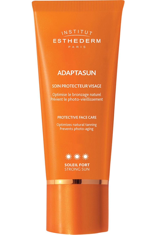 Blissim : Institut Esthederm - Crème bronzage visage Adaptasun - Crème bronzage visage Adaptasun