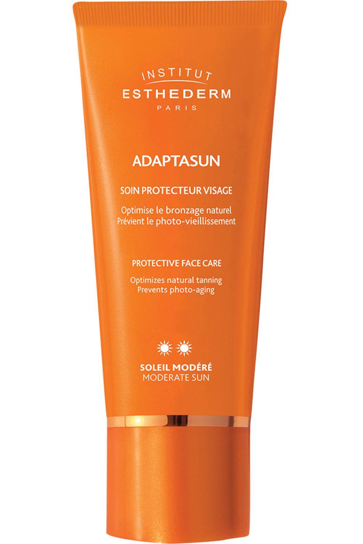 Blissim : Institut Esthederm - Crème bronzage visage Adaptasun - Adaptasun Crème Visage Soleil Modéré