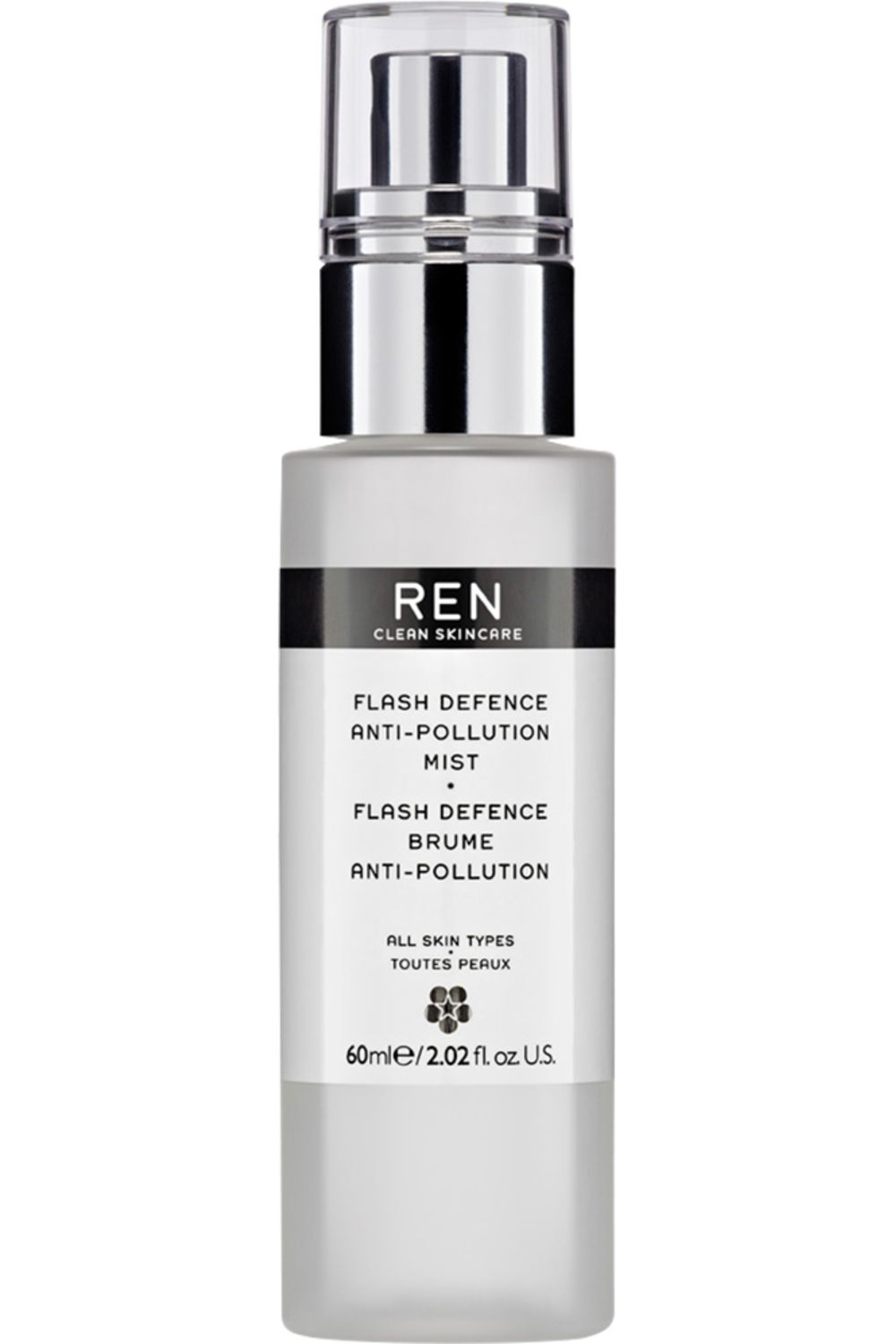 Blissim : REN - Brume anti-pollution Flash Defence - Brume anti-pollution Flash Defence