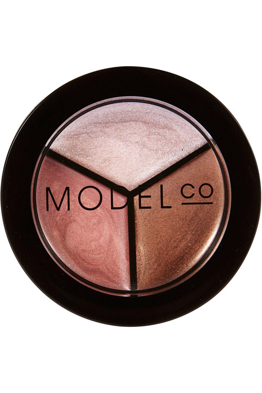 Blissim : ModelCo - Trio blush bronzer highlighter - Trio blush bronzer highlighter