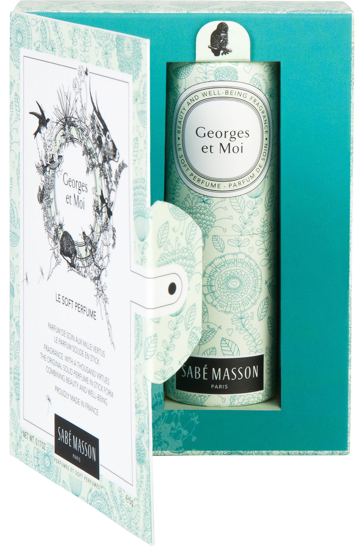 Blissim : Sabé Masson - Parfum solide Huile de Tiaré Georges et Moi - Parfum solide Huile de Tiaré Georges et Moi