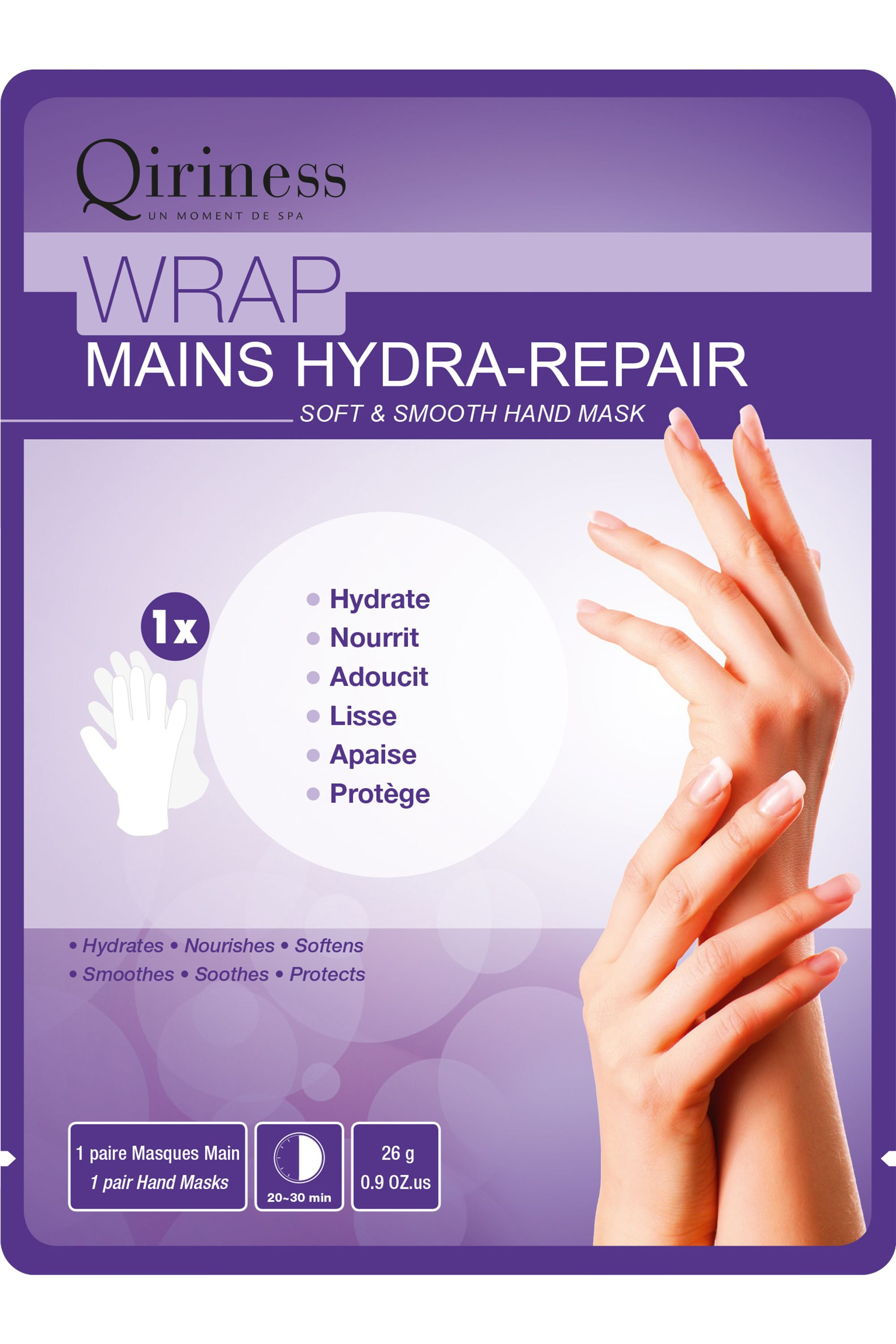 Blissim : Qiriness - Wrap Mains Hydra-Repair - Wrap Mains Hydra-Repair