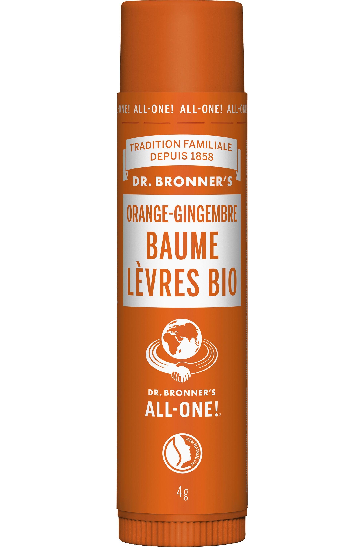 Blissim : Dr Bronner's - Baume à lèvres - Orange Ginger