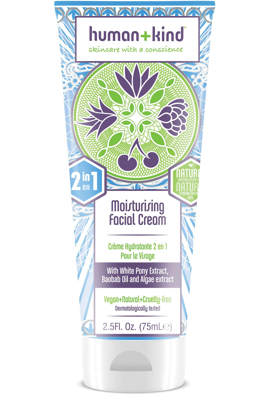 Blissim : Human + Kind - Crème hydratante 2 en 1 pour le visage - Crème hydratante 2 en 1 pour le visage