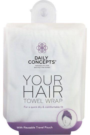 Serviette absorbante cheveux Your Hair Towel Wrap