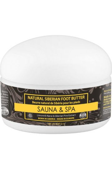 Sauna & Spa Beurre Pieds Naturel de Sibérie