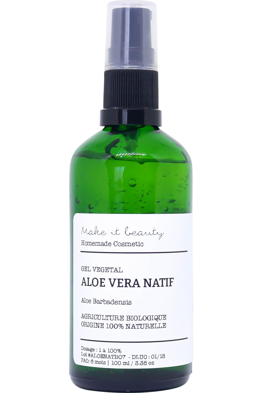 Blissim : Make It Beauty - Gel d'Aloe Vera Natif Bio - Gel d'Aloe Vera Natif Bio