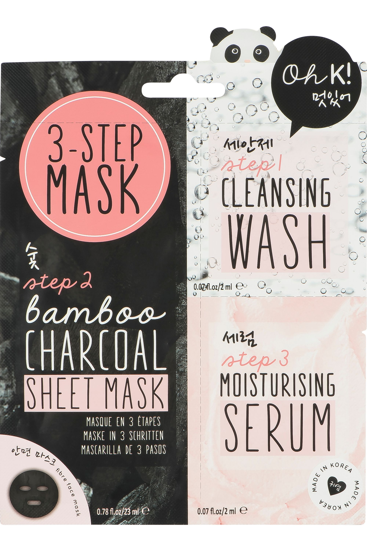 Blissim : Oh K! - Masque visage au charbon - Masque visage au charbon