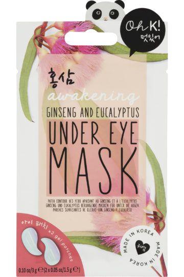 Patchs contour des yeux défatiguants gingembre rouge & eucalyptus