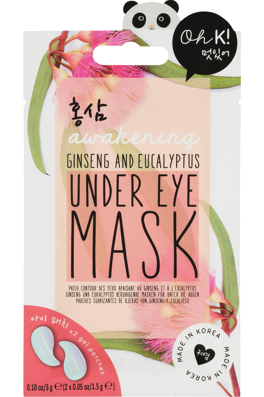 Blissim : Oh K! - Patchs contour des yeux défatiguants gingembre rouge & eucalyptus - Patchs contour des yeux défatiguants gingembre rouge & eucalyptus