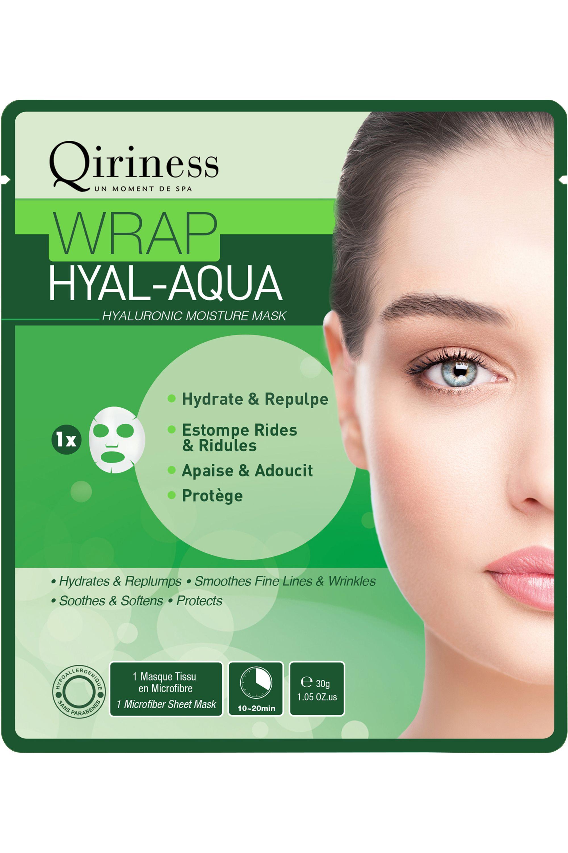 Blissim : Qiriness - Masque Wrap Hyal-Aqua - Masque Wrap Hyal-Aqua