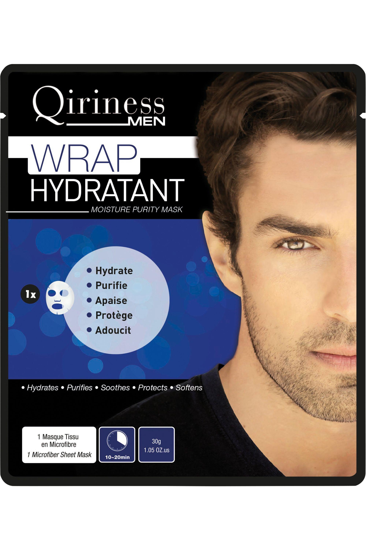 Blissim : Qiriness - Masque Wrap Hydratant Homme - Masque Wrap Hydratant Homme