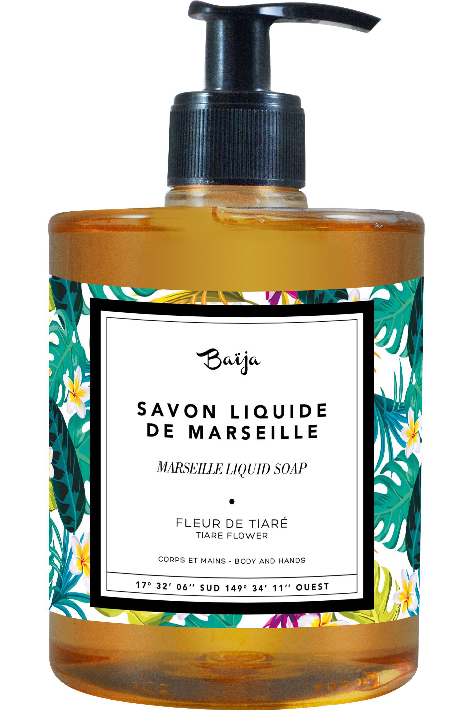 Blissim : Baïja - Savon Liquide Moana – Fleur de Tiaré - Savon Liquide Moana – Fleur de Tiaré