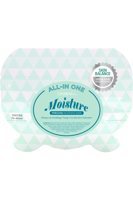 Blissim : Lindsay - Masque Visage à la Spiruline Hydratant - Masque Visage à la Spiruline Hydratant