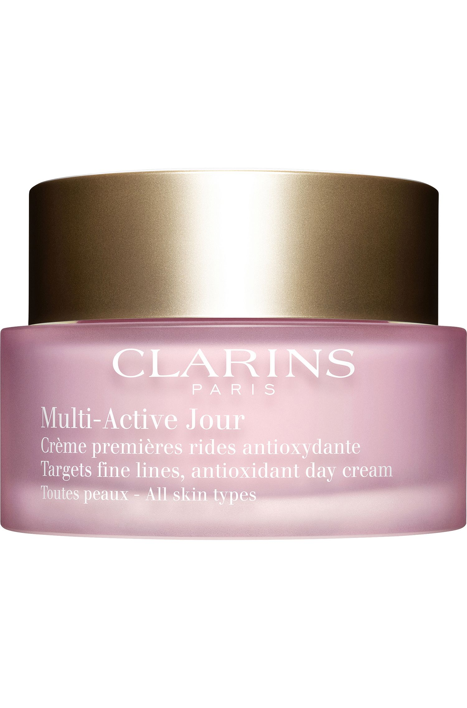 Blissim : Clarins - Crème jour première rides anti-oxydante Multi-Active - Crème jour première rides anti-oxydante Multi-Active