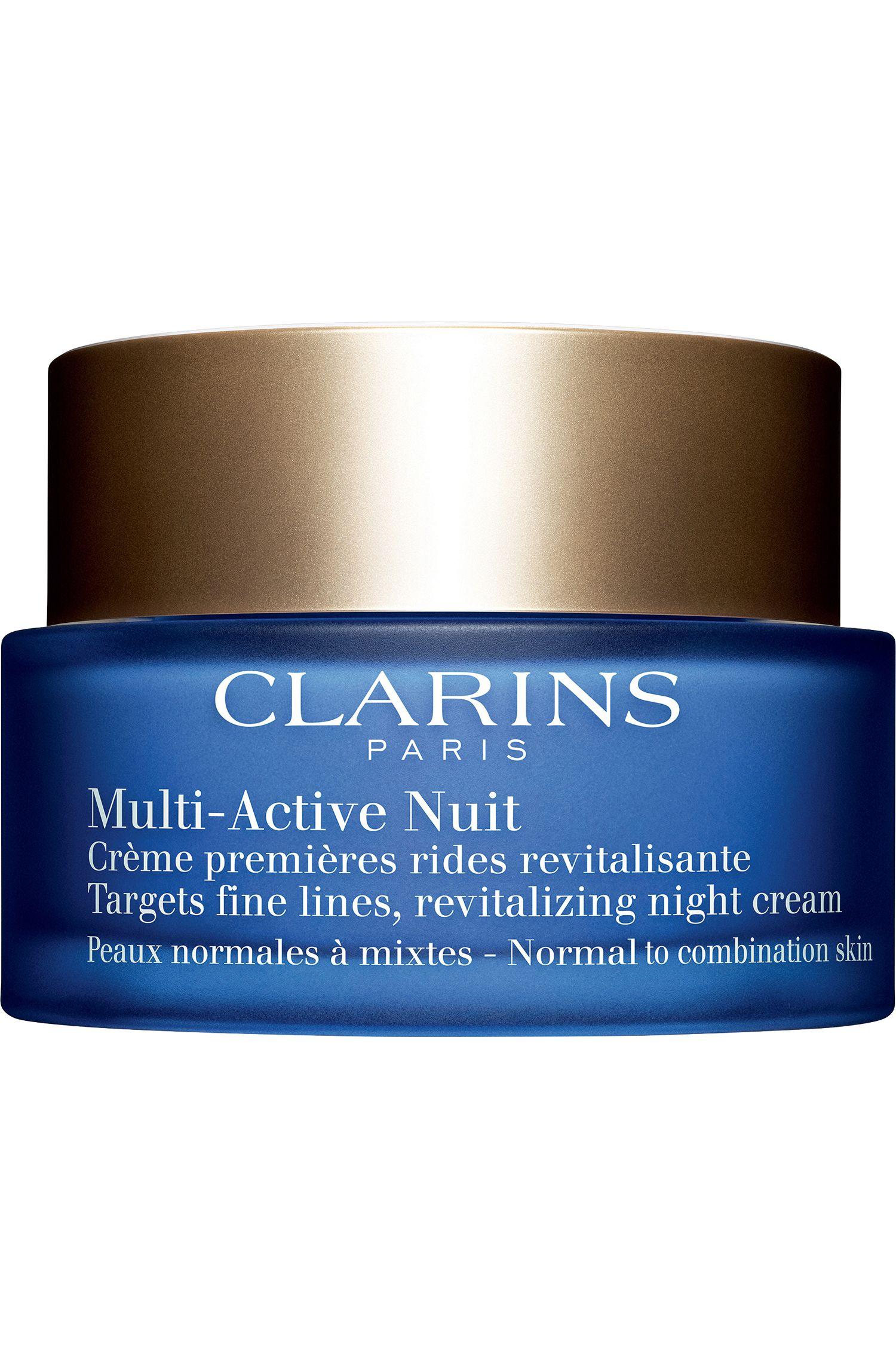 Blissim : Clarins - Crème nuit premières rides Multi-Active - Peaux normales à mixtes