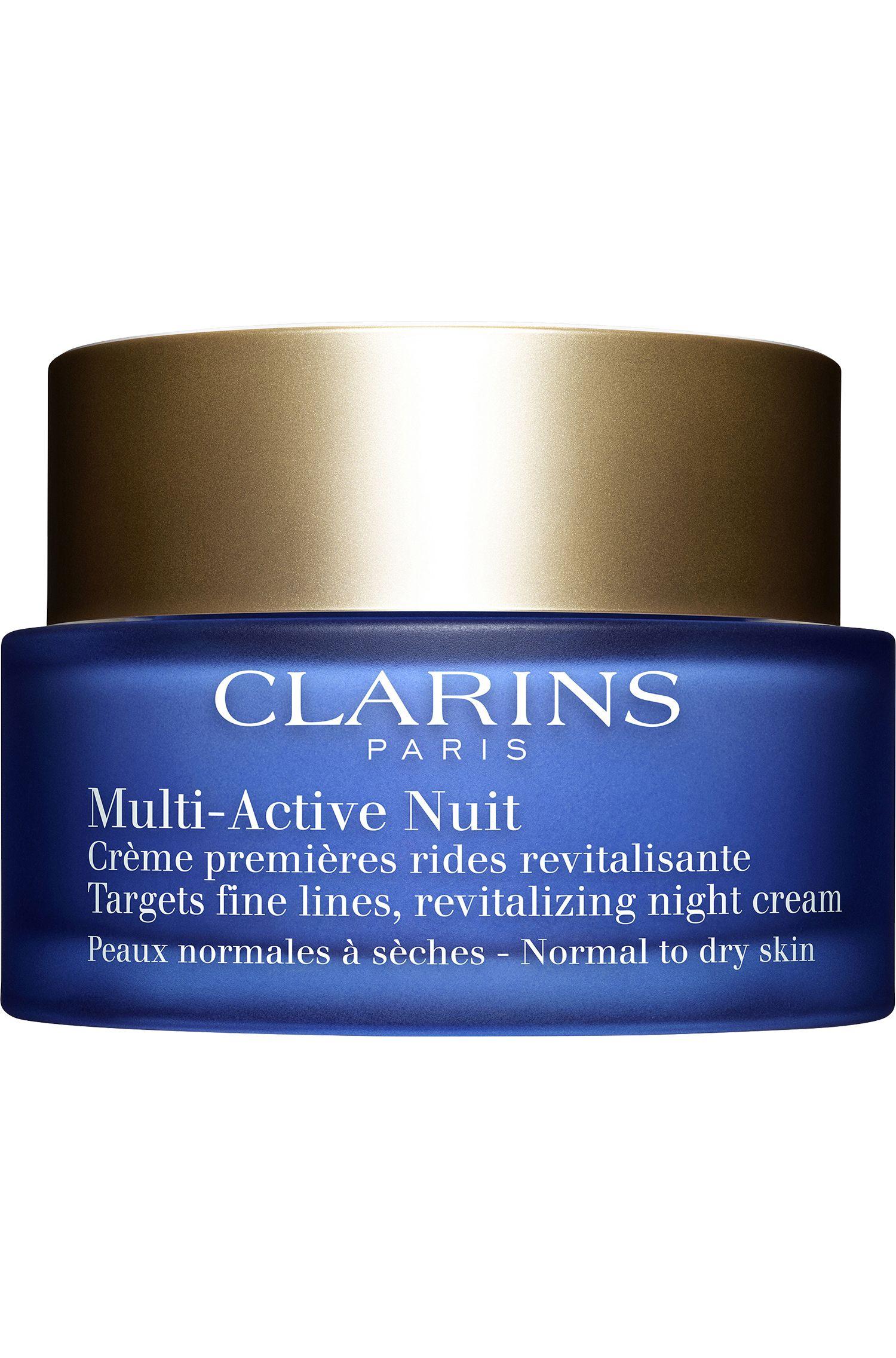 Blissim : Clarins - Crème nuit premières rides Multi-Active - Peaux normales à sèches