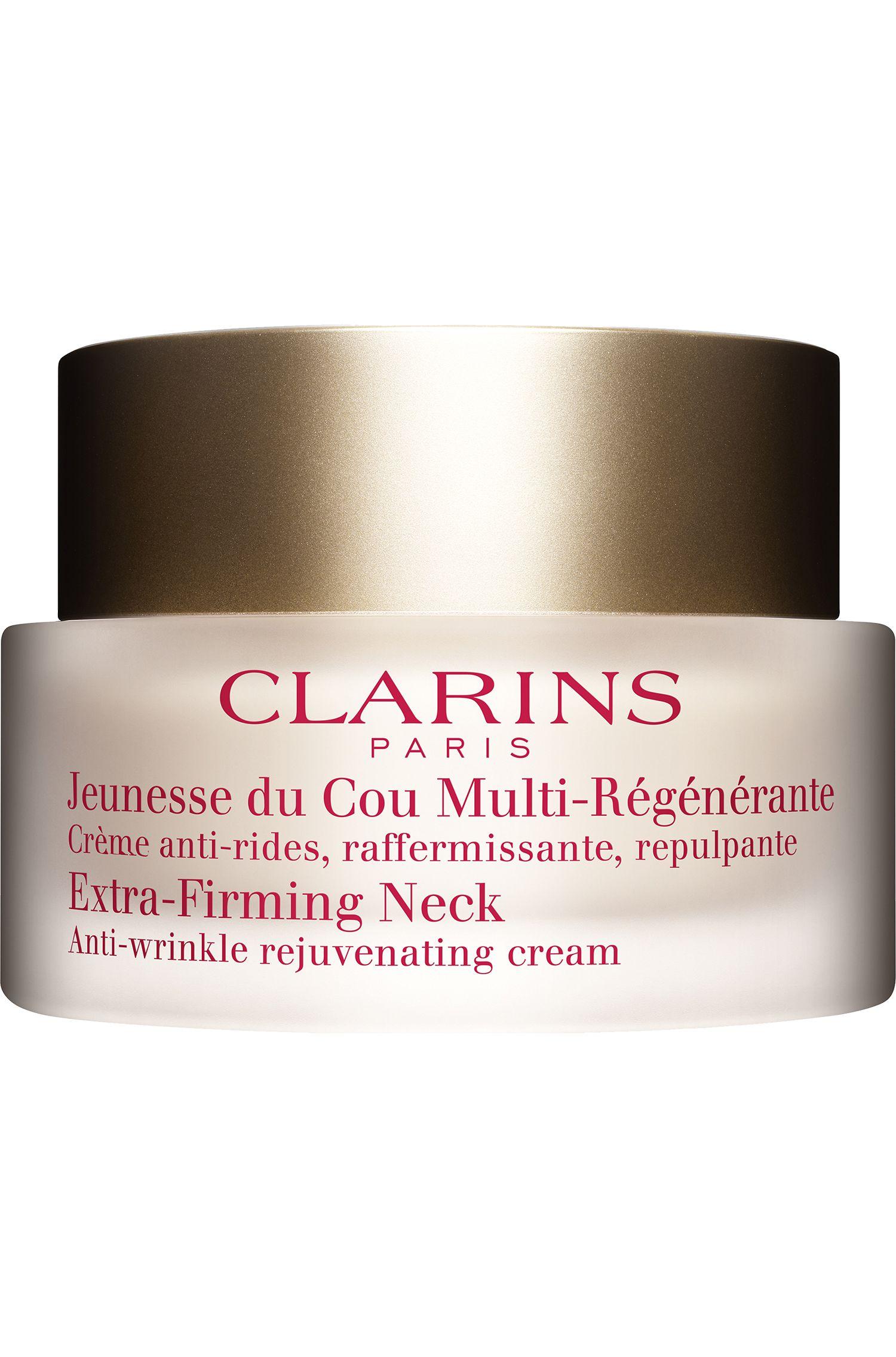 Blissim : Clarins - Crème anti-rides raffermissante Jeunesse du Cou Multi-Régénérante - Crème anti-rides raffermissante Jeunesse du Cou Multi-Régénérante