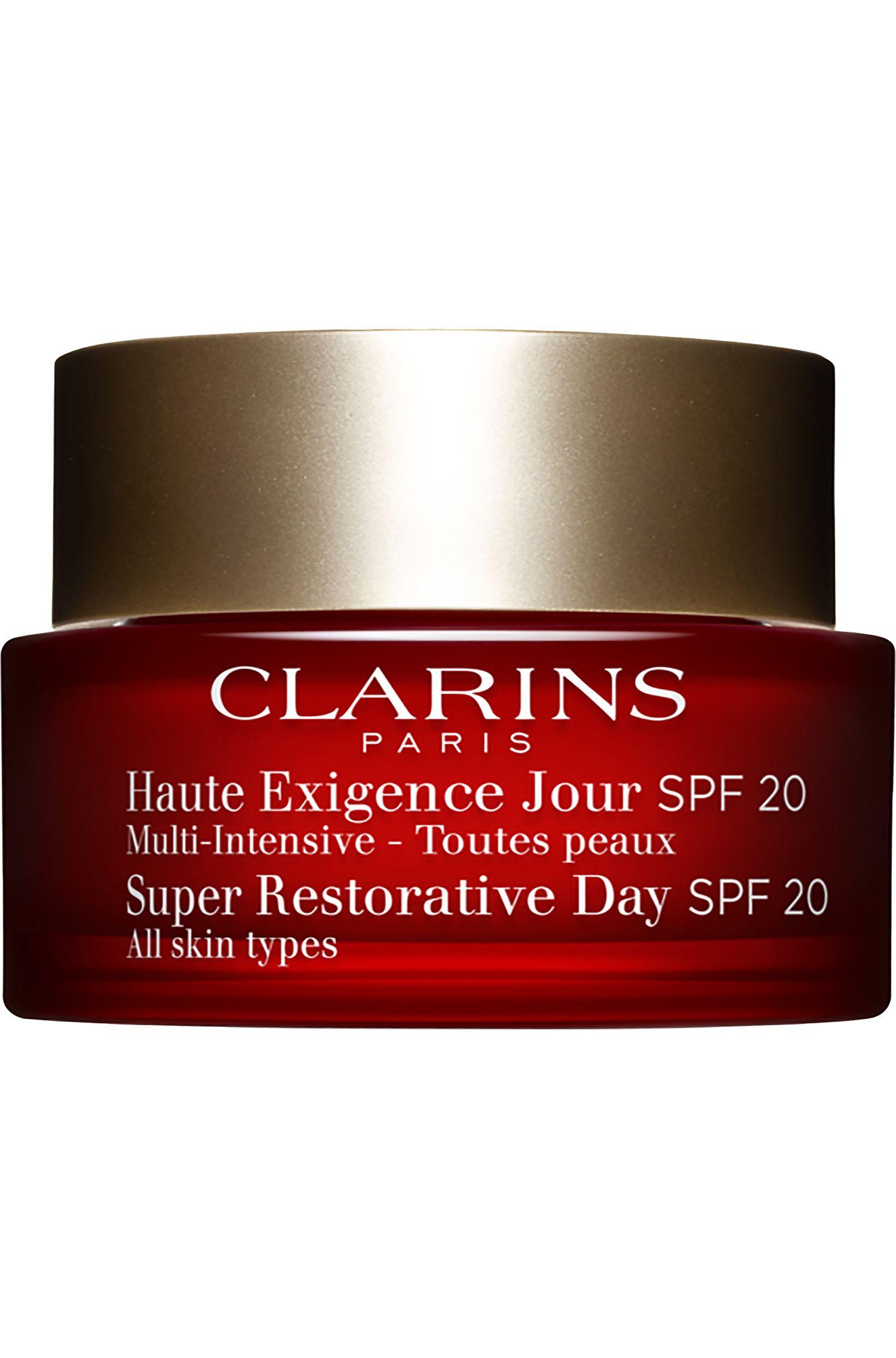 Blissim : Clarins - Crème jour lift redensifiante illuminatrice SPF20 Multi-Intensive - Crème jour lift redensifiante illuminatrice SPF20 Multi-Intensive