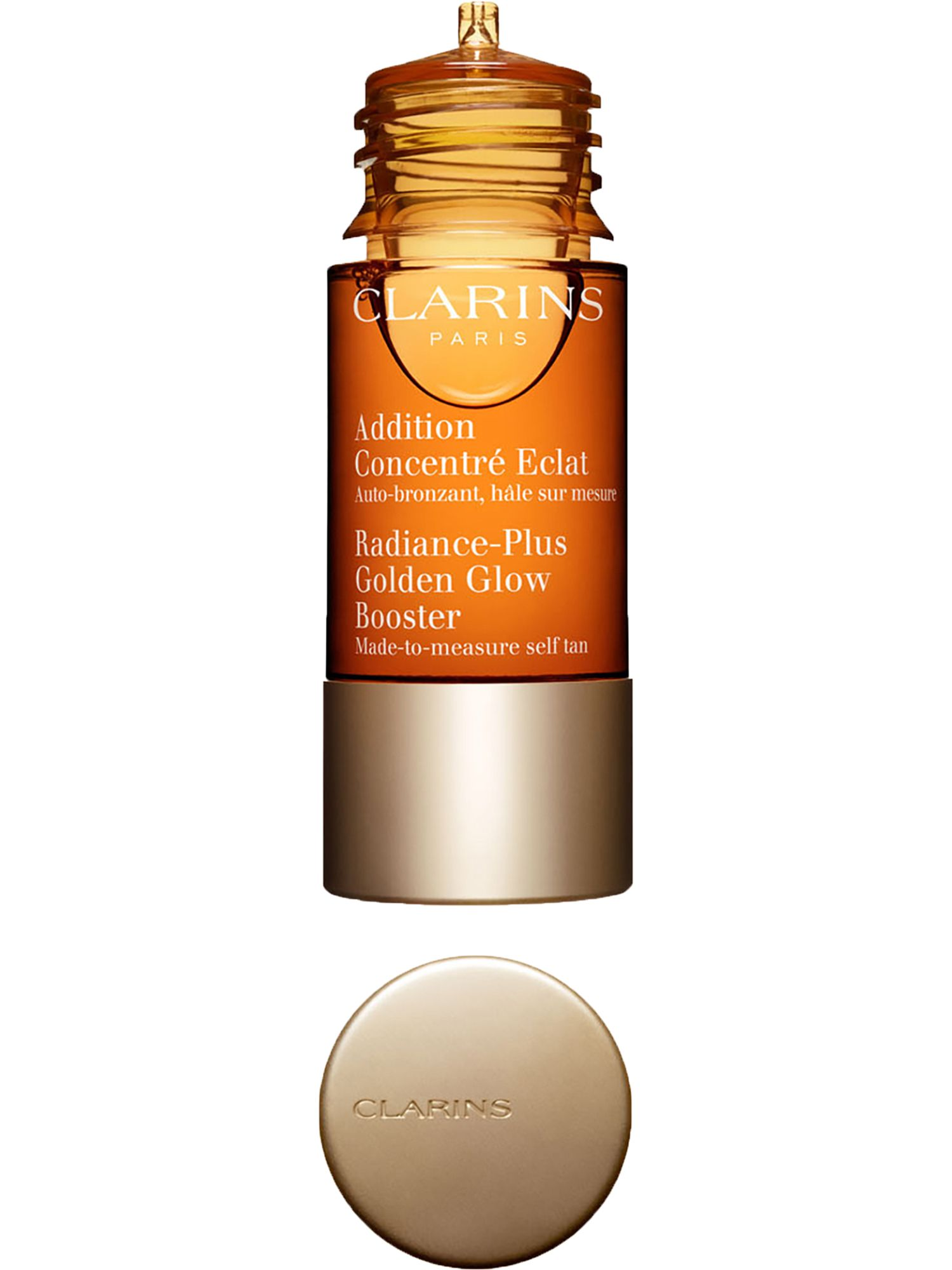Blissim : Clarins - Auto-bronzant visage Addition Concentré Eclat - Auto-bronzant visage Addition Concentré Eclat