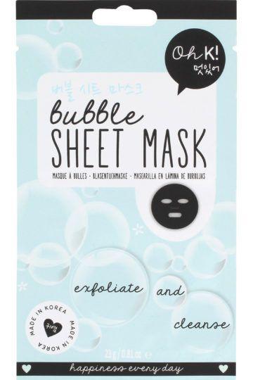 Masque visage Bubble