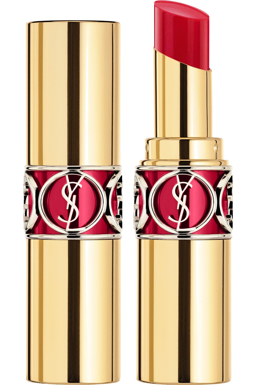 Blissim : Yves Saint Laurent - Rouge Volupté Shine - N°4 Rouge In Danger