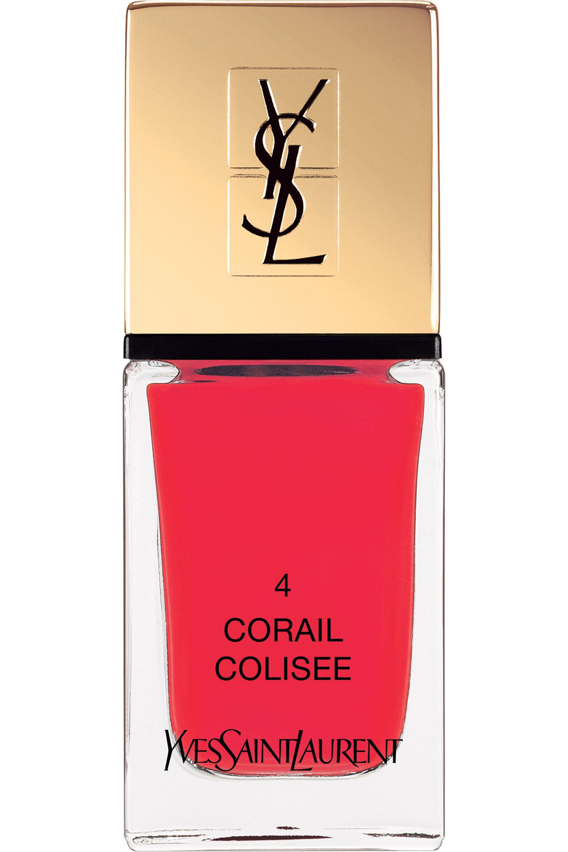 Blissim : Yves Saint Laurent - Vernis à ongles La Laque Couture - N°4 CORAIL COLISEE