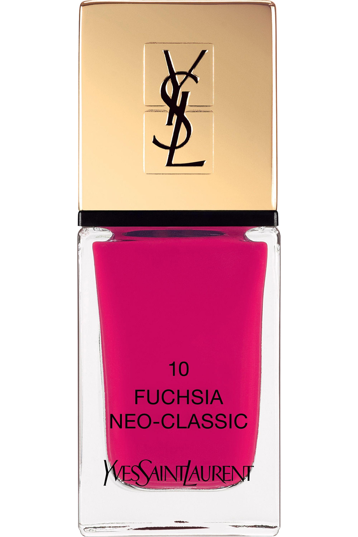 Blissim : Yves Saint Laurent - Vernis à ongles La Laque Couture - N°10 FUCHSIA NEO-CLASSIC