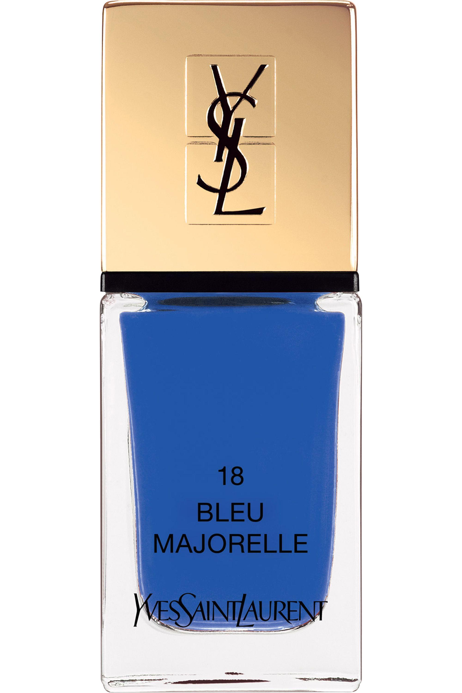 Blissim : Yves Saint Laurent - Vernis à ongles La Laque Couture - N°18 BLEU MAJORELLE