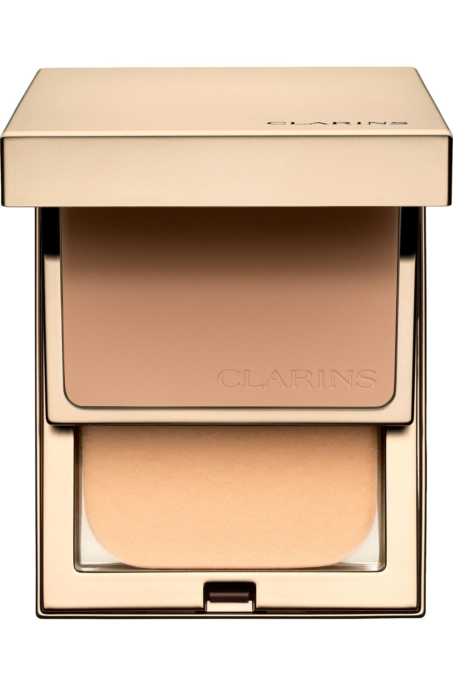 Blissim : Clarins - Fond de teint compact haute tenue anti-pollution Everlasting SPF 9 - 112 Amber
