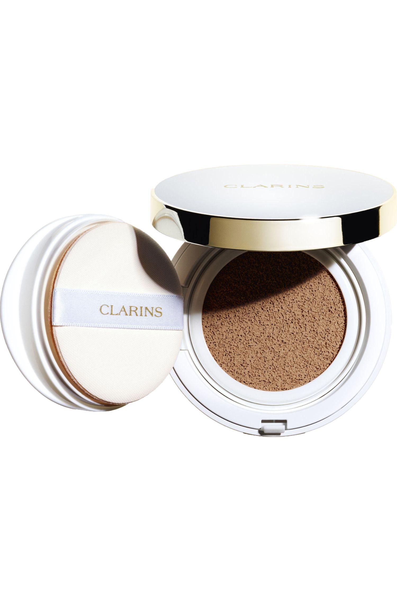 Blissim : Clarins - Fond de teint Cushion longue tenue SPF50 - 112 Amber